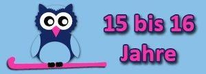 weibliche Jugend B (wJB) Altersklasse 15 bis 16 Jahre