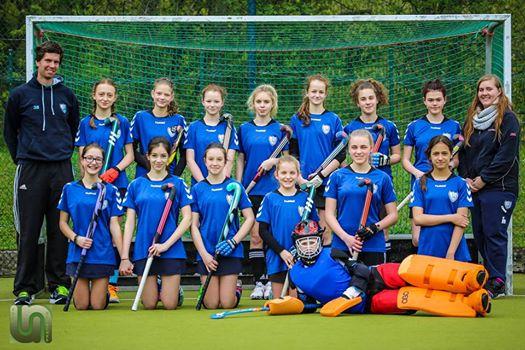 Mädchen A Mannschaftsbild Feldsaison 2016