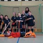 Mädchen C Mannschaftsbild Hallensaison 2016