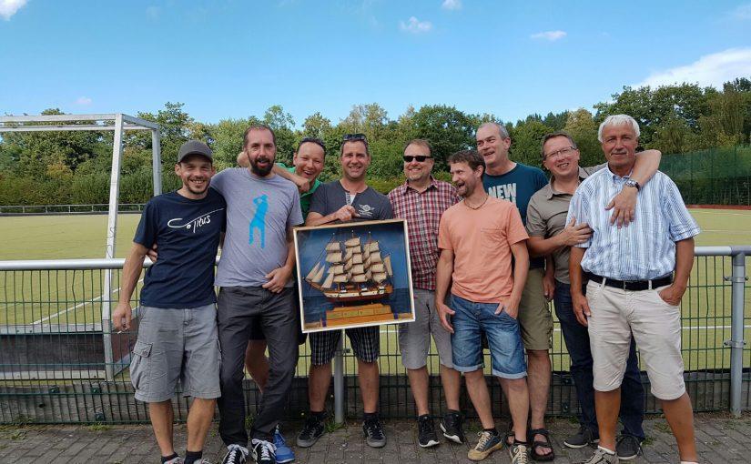 Mannschaftsfoto Seniorenteam in Rostock 2016