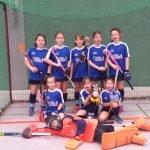 Mädchen C Mannschaftsbild Hallensaison 2016/17