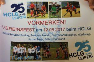 Poster 25 Jahre HCLG