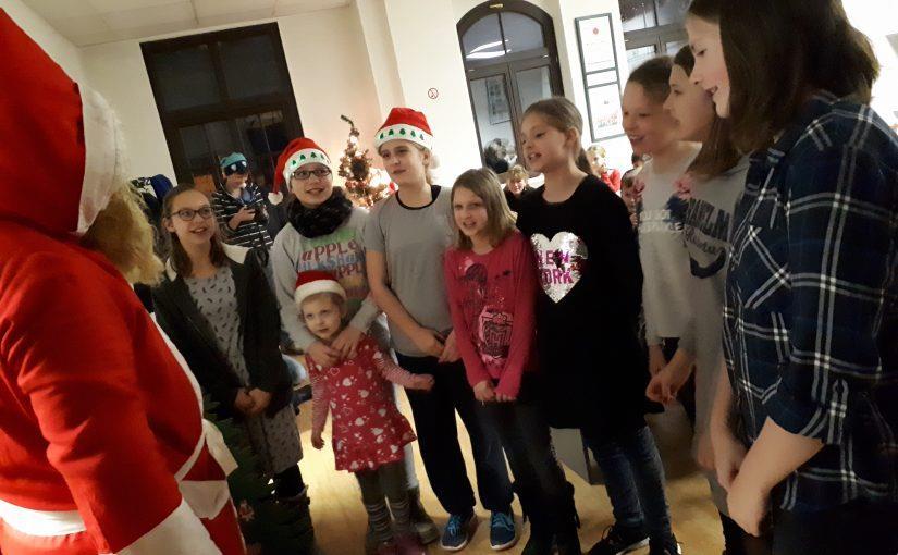 Weihnachtsfeier im Nachwuchsbereich