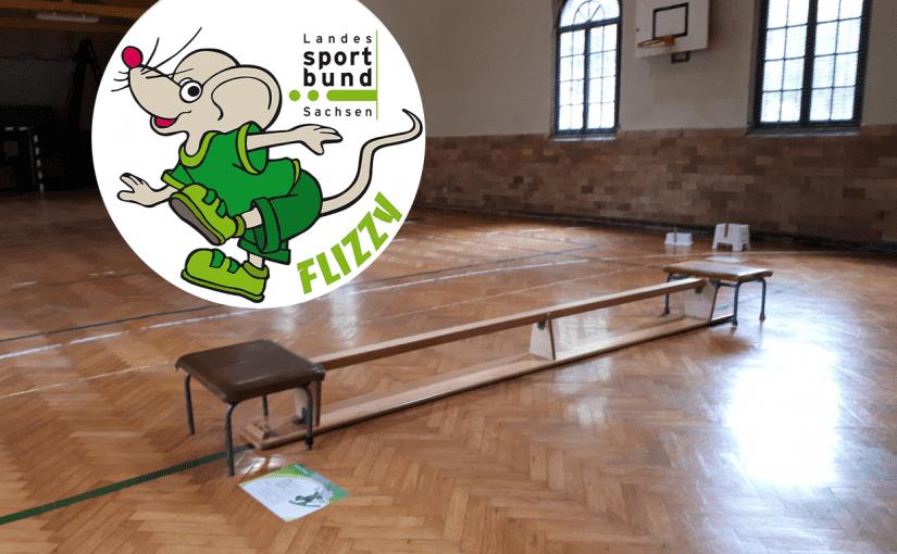 """Sportabzeichen """"Flizzy"""" in der Friesenhalle"""
