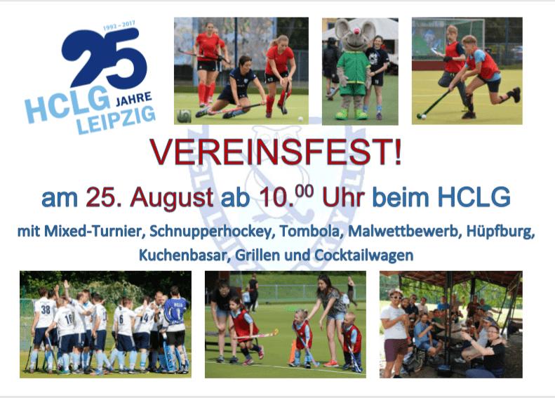 Banner HCLG-Vereinsfest 2018